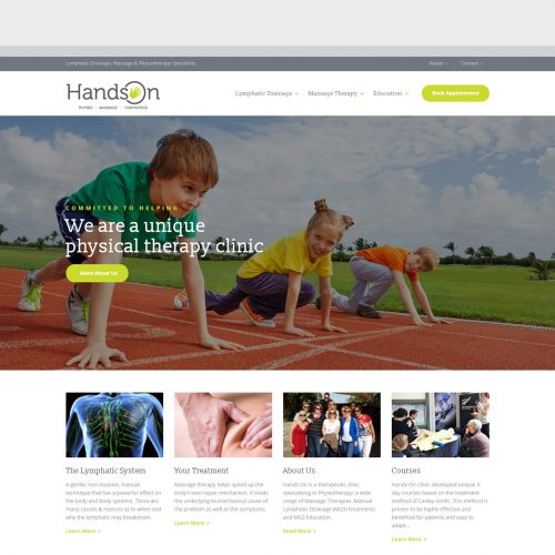 Hands On website