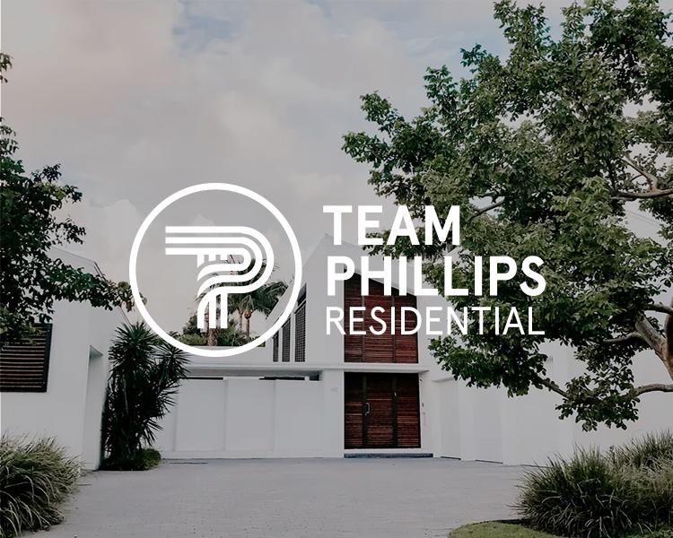 Team Phillips Residential logo by Modern Design